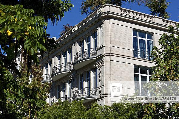 Alte Stadtvilla  Baden-Baden  Baden-Württemberg  Deutschland  Europa