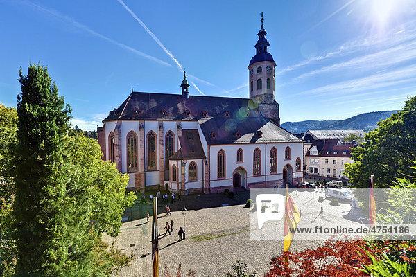 Stiftskirche Baden-Baden  Baden-Württemberg  Deutschland  Europa