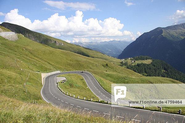Großglockner  Hochalpinstraße  Hohe Tauern Nationalpark  Kärnten  Österreich  Europa
