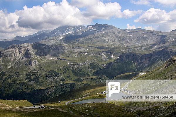 Großglockner  Hochalpenstraße  Hohe Tauern Nationalpark  Kärnten  Österreich  Europa