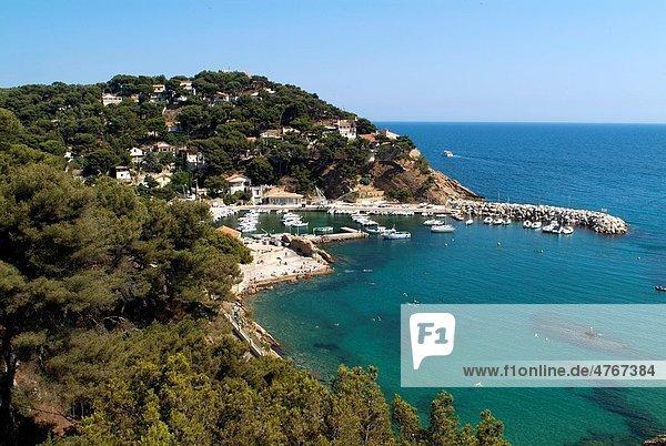 Port at Ensues-la-Redonne  Provence  France