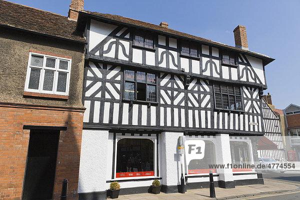 Restaurant Strada  Ely Street Straße  Stratford-upon-Avon  Grafschaft Warwickshire  England  Großbritannien  Europa