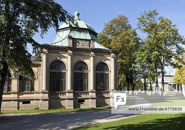 Kurpark  Bad Kissingen  Unterfranken  Bayern  Deutschland  Europa