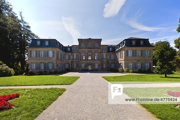Schloss Fantaisie und Schlosspark  Bayreuth  Oberfranken  Bayern  Deutschland  Europa