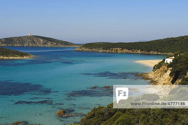 Costa del Sud bei Porto Malfatono  Provinz Cagliari  Süd Sardinien  Italien  Europa