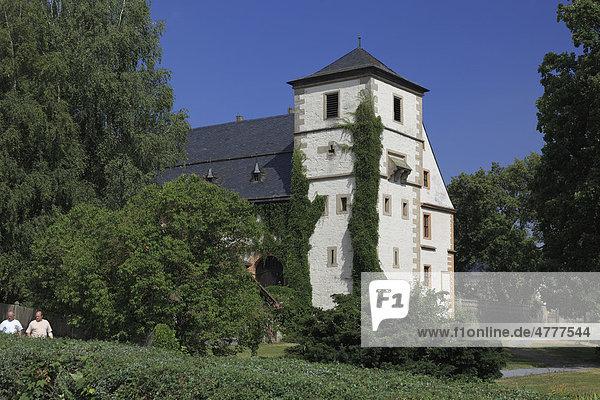 Kloster Maria Bildhausen bei Münnerstadt  Landkreis Bad Kissingen  Unterfranken  Bayern  Deutschland  Europa