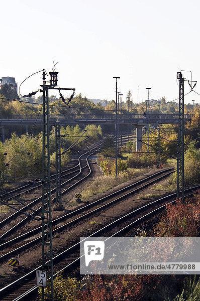 Rangierbahnhof München Nord  Durchgangsbahnhof  München  Bayern  Deutschland  Europa