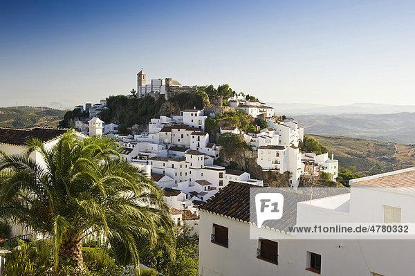 Casares  bei Estepona  Costa del Sol  Andalusien  Spanien  Europa