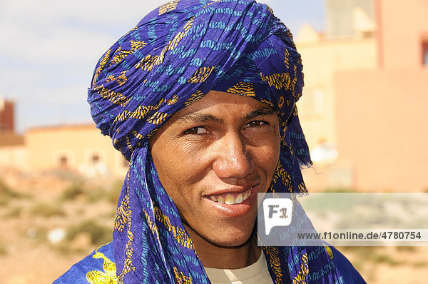 Portrait  travel guide  Todra Gorge  Morocco  Africa