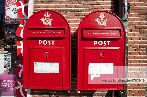 Danischer Briefkasten Postkasten Danemark Europa Iblglf01695565
