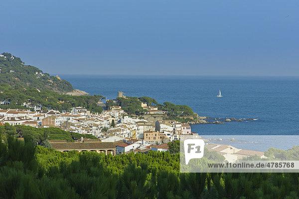 Ferienort Calella de Palafrugell im Winter  Calella de Palafrugell  Costa Brava  Spanien  Europa