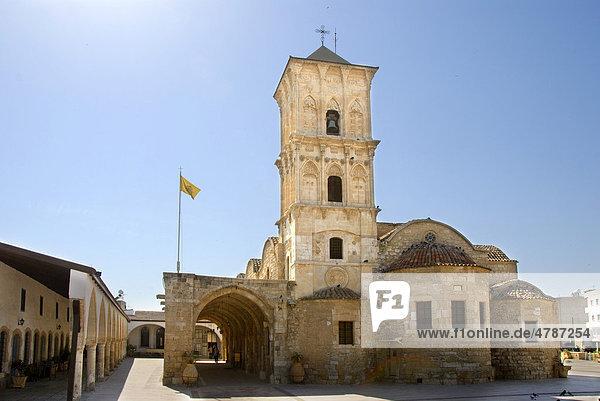 Griechisch-orthodoxes Christentum  Lazarus-Kirche  Agios-Lazaros-Kirche  Larnaka  Larnaca  Südzypern  Republik Zypern  Mittelmeer  Europa