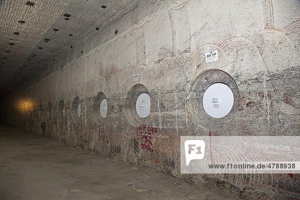 Radioaktiver Atommüll aus dem US-Atomwaffen Programm wird in den Wänden eines alten Salzstocks eine halbe Meile unterhalb des Waste Isolation Pilot Plants gelagert  Carlsbad  New Mexico  USA