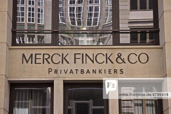 Niederlassung Merck Finck & Co. Privatbankiers in Berlin  Taubenstraße  Deutschland  Europa