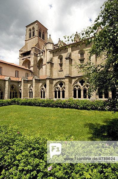 Abtei von La Chaise Dieu  Haute-Loire  Auvergne  Frankreich  Europa