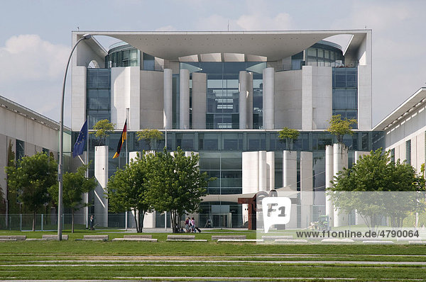 Bundeskanzleramt  Regierungsviertel  Berlin  Deutschland  Europa