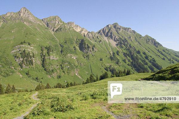 Alpental Val de Morgins  Kanton Wallis  Schweiz  Europa Kanton Wallis