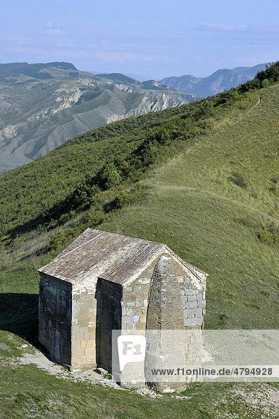 Basilika 4. Jahrhundert in Tochti  Ort der Verkündung des Christentum als Staatsreligion Georgiens 337 n.Ch.  Kwemo Kartli Region  Georgien  Vorderasien