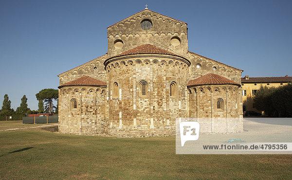 Basilika San Piero a Grado  Pisa  Toskana  Italien  Europa