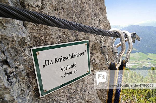 Klettersteig Reit Im Winkl : Klettersteige für faule spiegel online reise