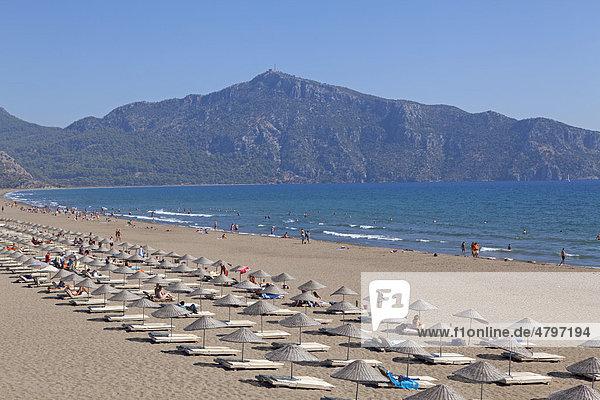 Iztuzu beach  turtle beach  Dalyan Delta  Turkish Aegean  Turkey