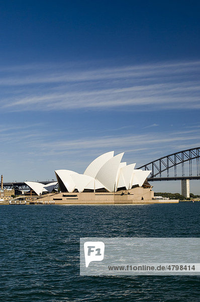 Oper Opera House  Sydney  New South Wales  Australien