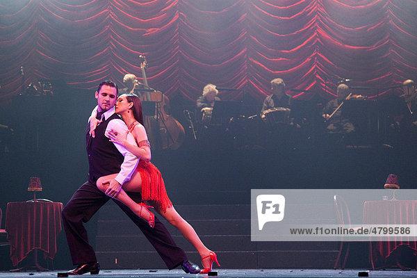 Tango Musical Tanguera with Esteban Domenichini and Leticia Fallacara  Sadler's Wells Theatre  London  United Kingdom  Europe