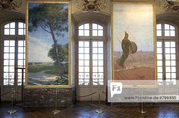 Salle des Illustres im Rathaus von Toulouse  Frankreich  Europa