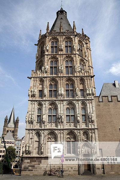 Rathaus  Altstadt  Köln  Nordrhein-Westfalen  Deutschland  Europa
