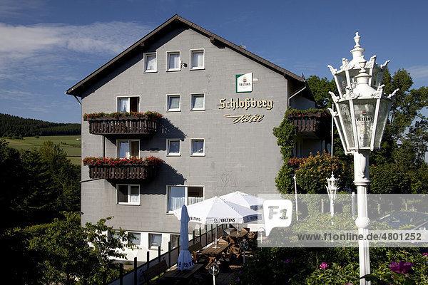 Schloßberg Hotel  Küstelberg  Medebach  Sauerland  Nordrhein-Westfalen  Deutschland  Europa