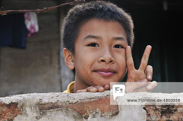 Junger Mann  Vietnam