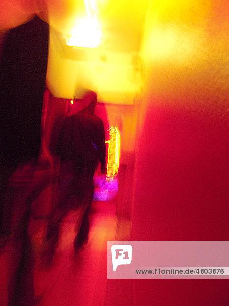 Freier  Bordell  Laufhaus im Rotlichtviertel  Frankfurt  Hessen  Deutschland  Europa