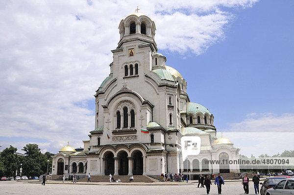Alexander-Nevski-Kathedrale  Sofia  Bulgarien  Europa