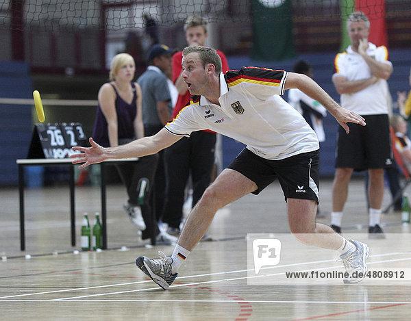 Ringtennis-WM 2010 in Koblenz  Dominic Schubarth  Deutschland  Koblenz  Rheinland-Pfalz  Deutschland  Europa