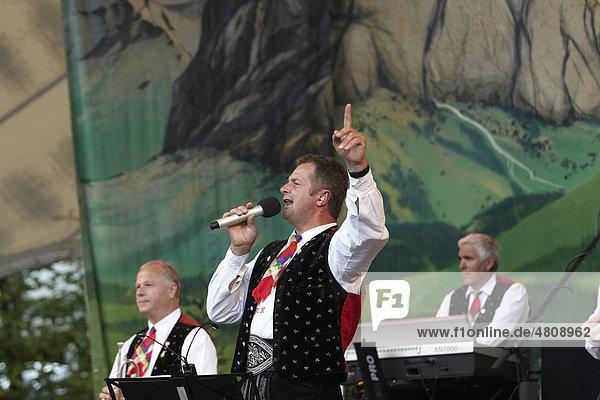 Volksmusik-Open-Air  Freilichtbühne Loreley  Kastelruther Spatzen  St. Goarshausen  Rheinland-Pfalz  Deutschland  Europa Volksmusik-Open-Air, Freilichtbühne Loreley, Kastelruther Spatzen, St. Goarshausen, Rheinland-Pfalz, Deutschland, Europa