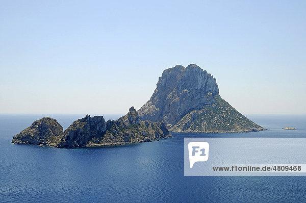 Isla Vedra  Insel  Mittelmeer  Ibiza  Pityusen  Balearen  Insel  Spanien  Europa
