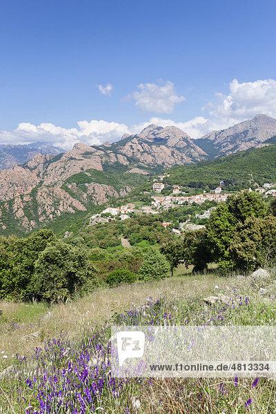 Piana  Die Calanche  Felsenlandschaft  Korsika  Frankreich  Europa