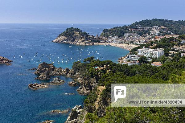 Tossa de Mar  Costa Brava  Spanien  Europa