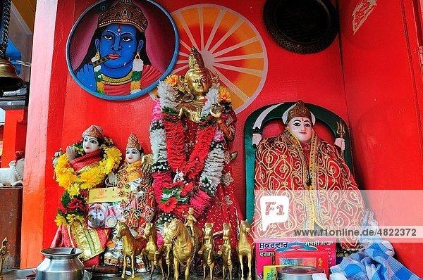 God at Har Ki Pairi Temple by the Ganges river