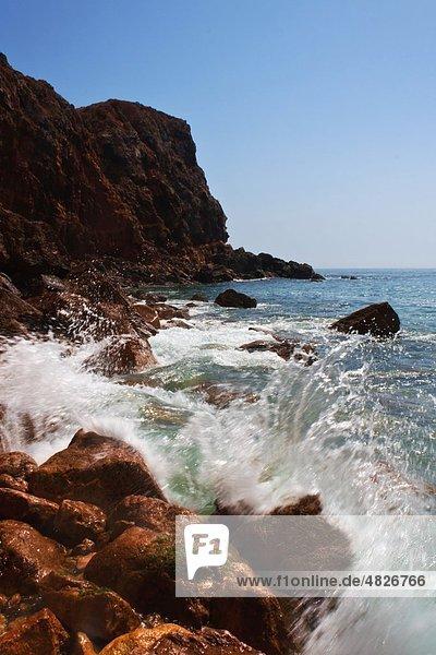Portugal  Algarve  Sagres  Blick auf Tonel Beach