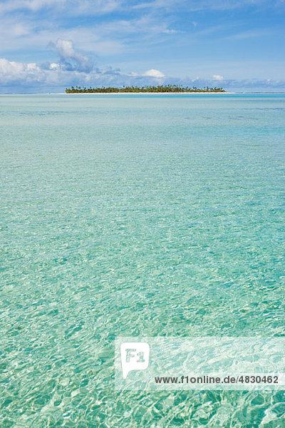 Klare Wasser des südlichen Pazifik