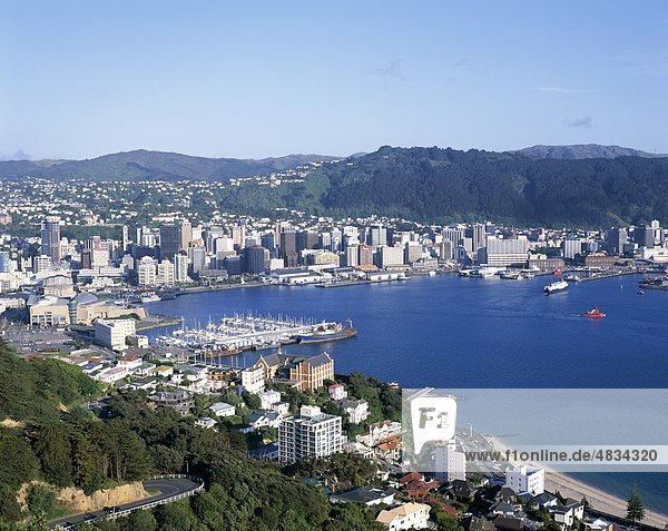 City  Harbour  Holiday  Landmark  New zealand  North island  Skyline  Tourism  Travel  Vacation  Wellington