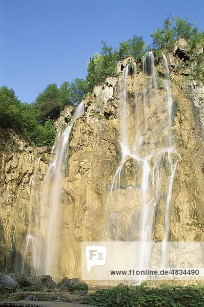 Kroatien  Europa  Erbe  Highlands  Urlaub  Kvarner  Landmark  Nationalpark Plitwitzer Seen  Tourismus  Reisen  Unesco  Vacation