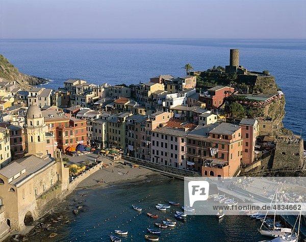 Cinque terre  Coastal  Holiday  Italy  Europe  Landmark  Liguria  Tourism  Travel  Vacation  Vernazza  View  Village