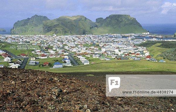 Vulkan Insel Ansicht Beschluss