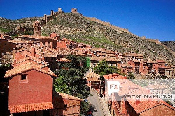 Albarracin  Teruel province  Aragon  Spain