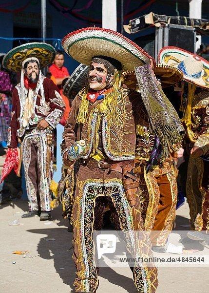 Guatemala  Lemoa  traditional dance ceremony