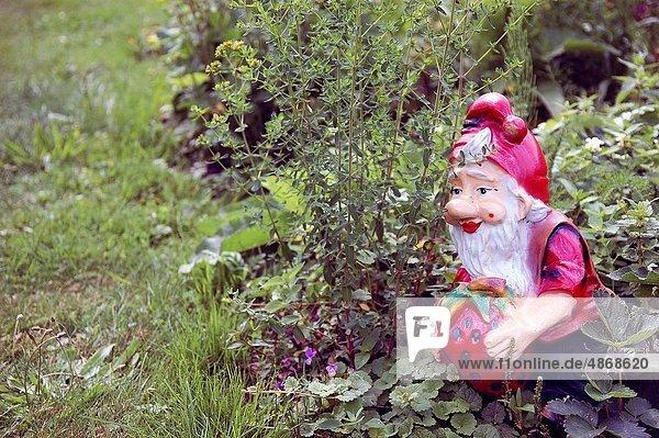 arbeiten  Garten  Niederlande  Gartenzwerg  niederländisch  hart