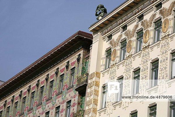 Austria  Vienna  Wagner Houses at the Naschmarkt