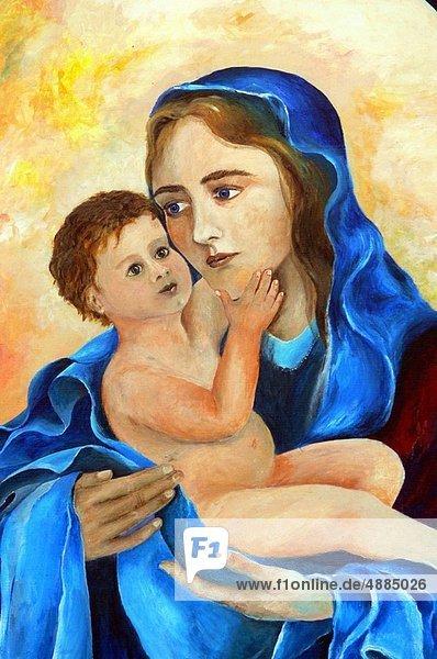 Jungfrau Maria  Madonna  Säuglingsalter  Säugling